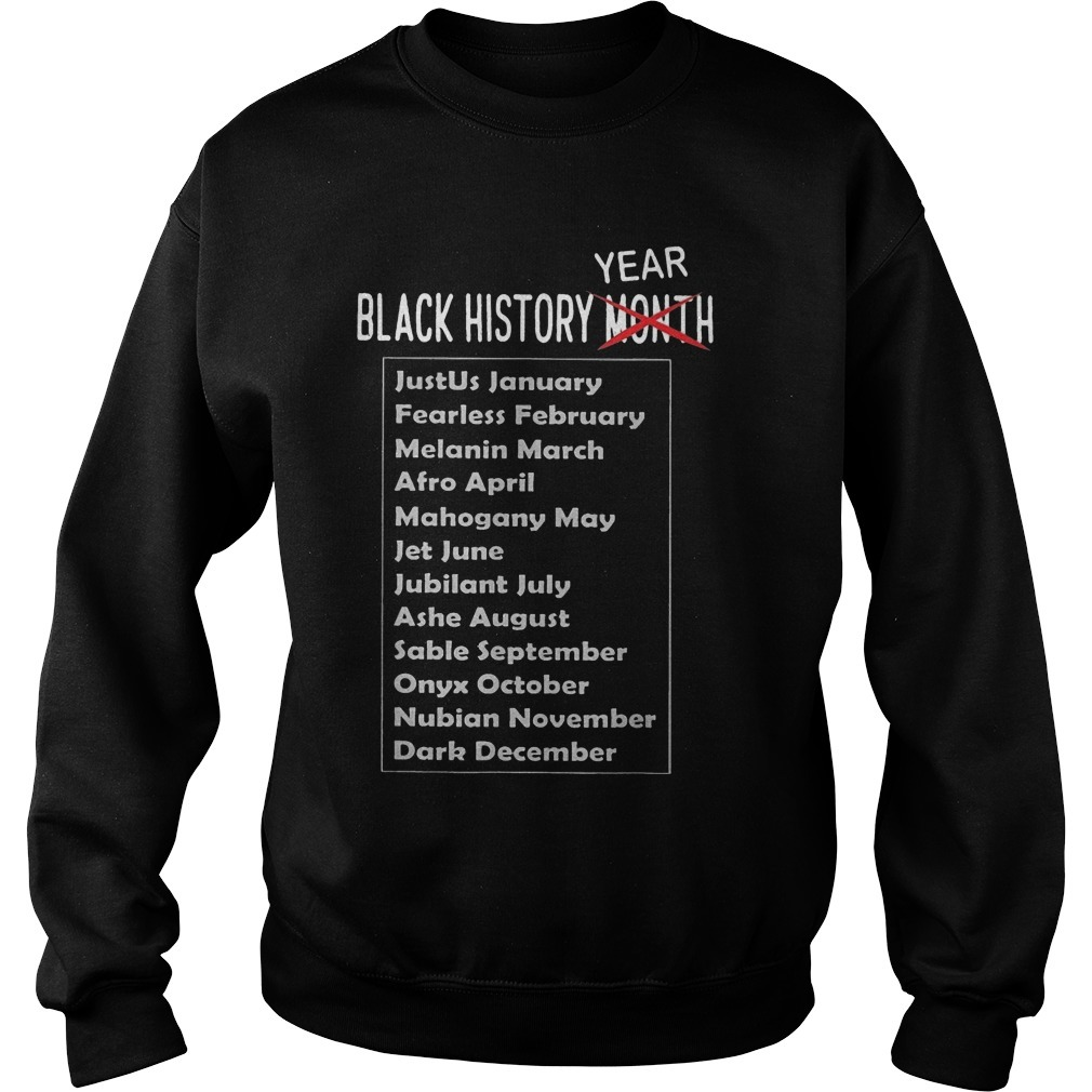 Black History Year African American Sweater