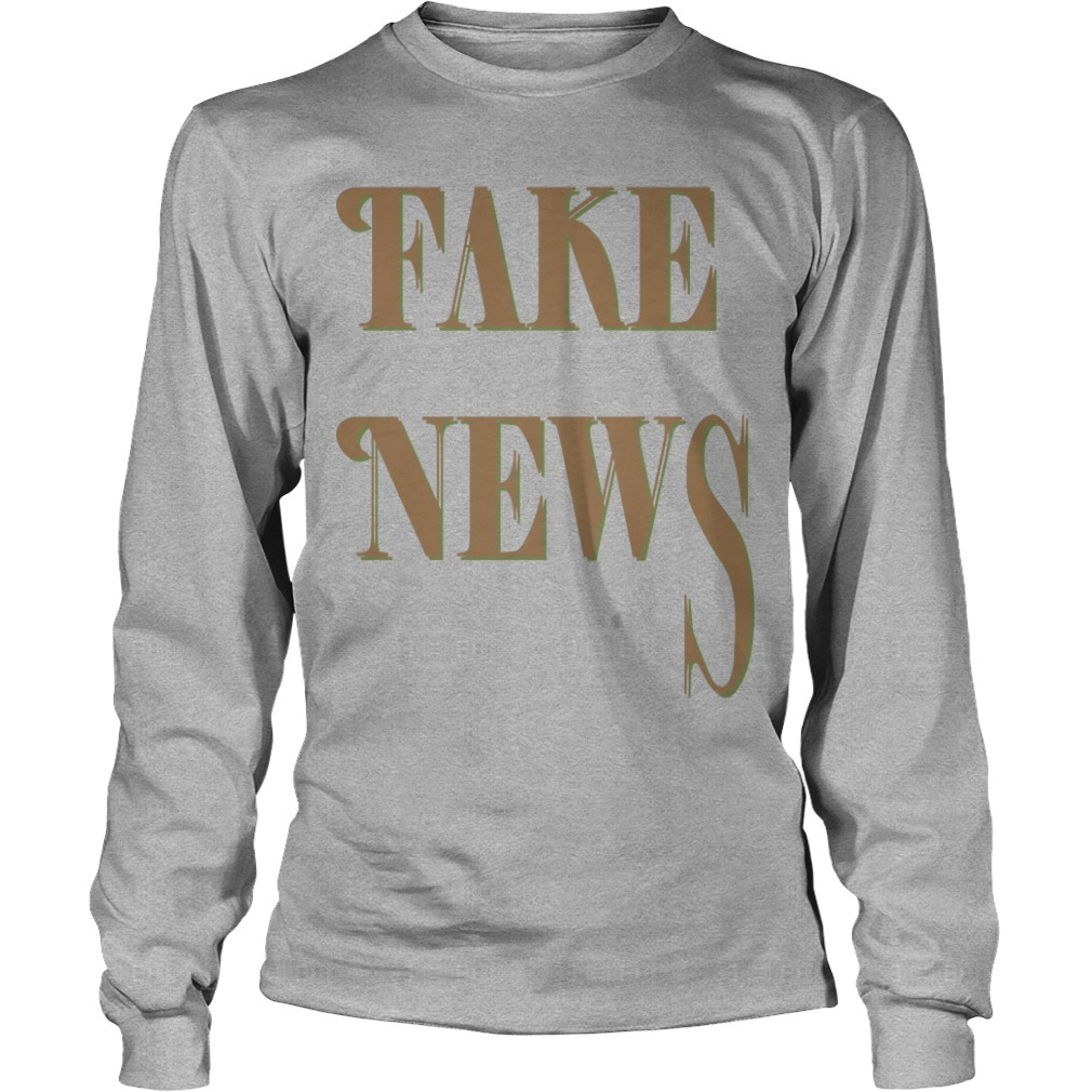 Bloomingdale Fake News Long Sleeve Tee