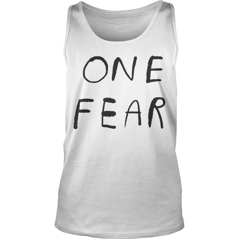 Branson Reese One Fear Tank top