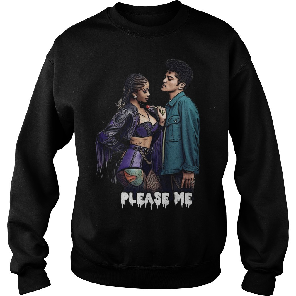 Cardi B and Bruno Mars please me Sweater