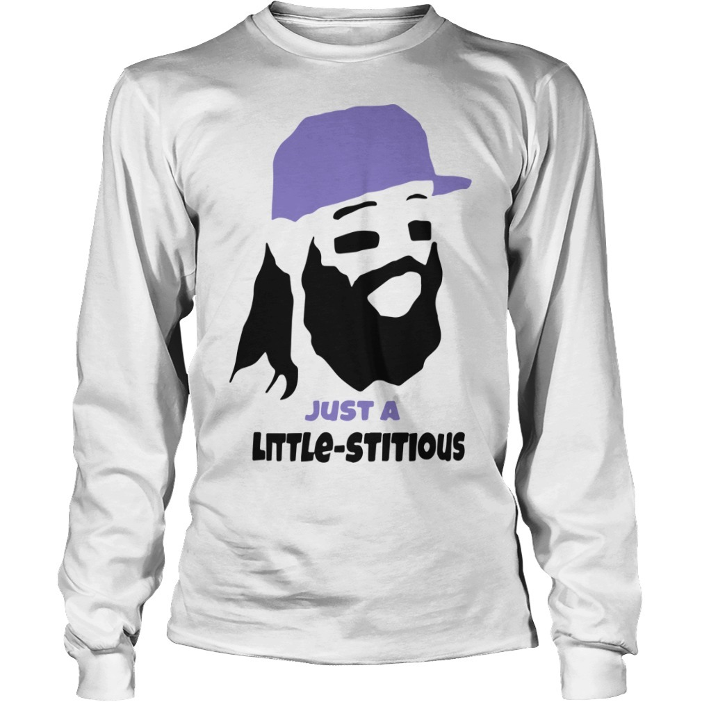 Colorado Rockies Just A Little-stitious Long Sleeve Tee