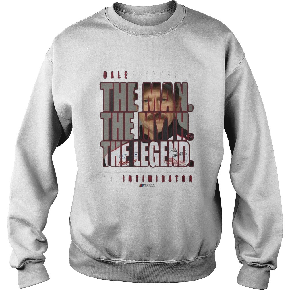 Dale Earnhardt The Man The Myth The Legend Sweater