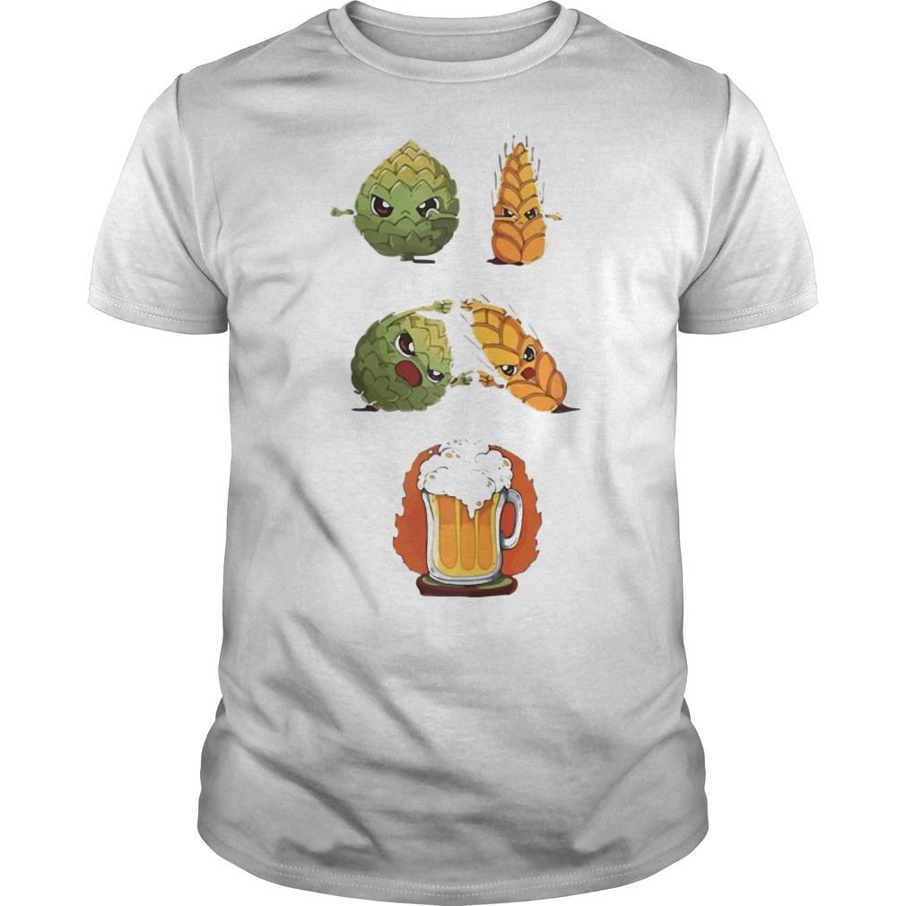 Dragon Ball Z Hops Fusion Barley Beer Shirt