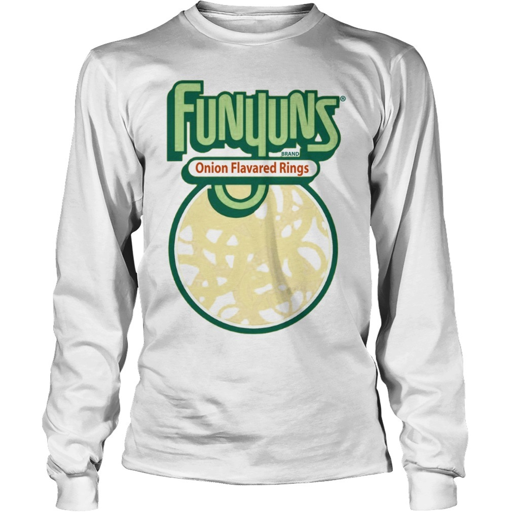 Funyuns Brand Onion Flavored Rings Long Sleeve Te