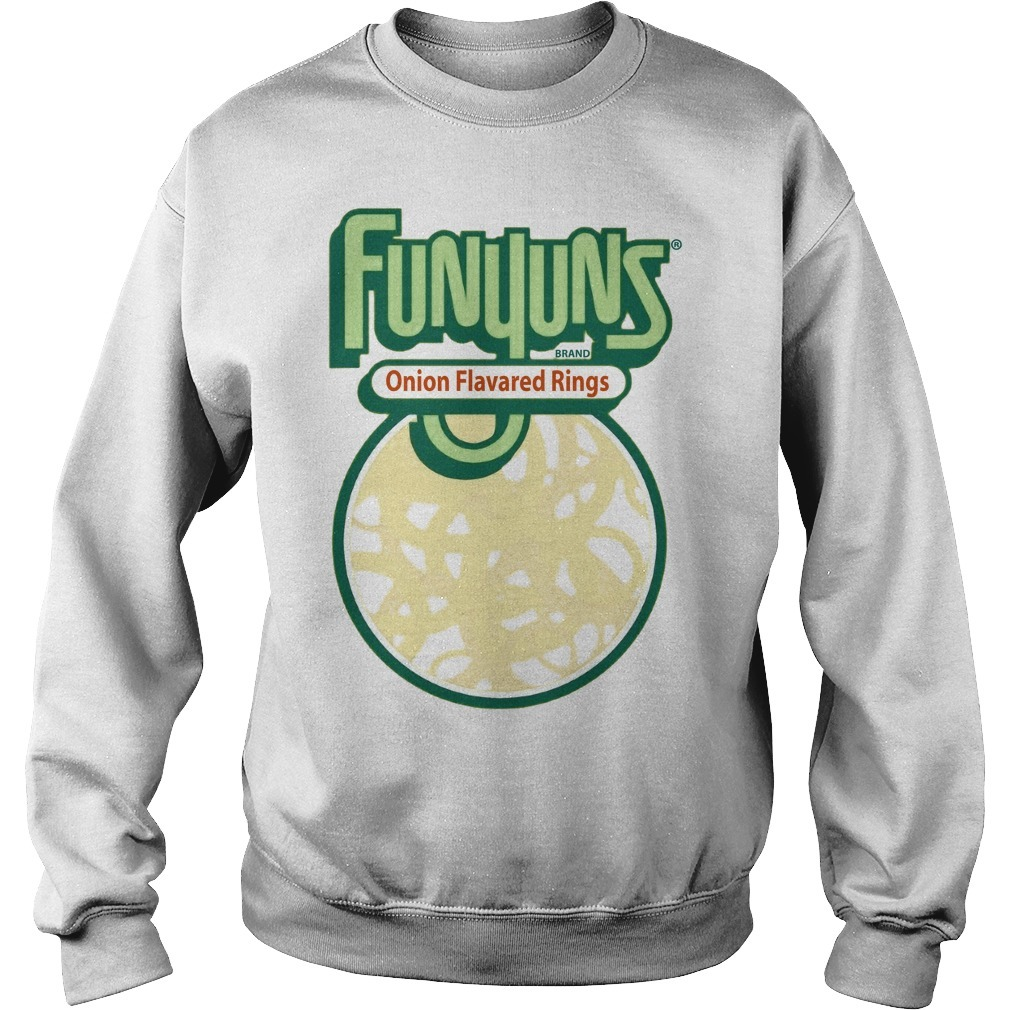 Funyuns Brand Onion Flavored Rings Sweater