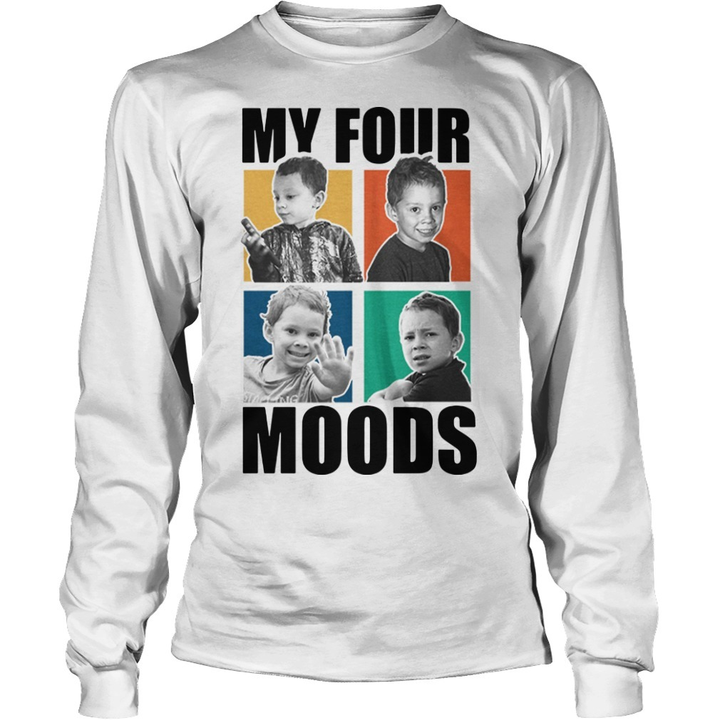 Gavin Thomas My Four Moods Long Sleeve Tee