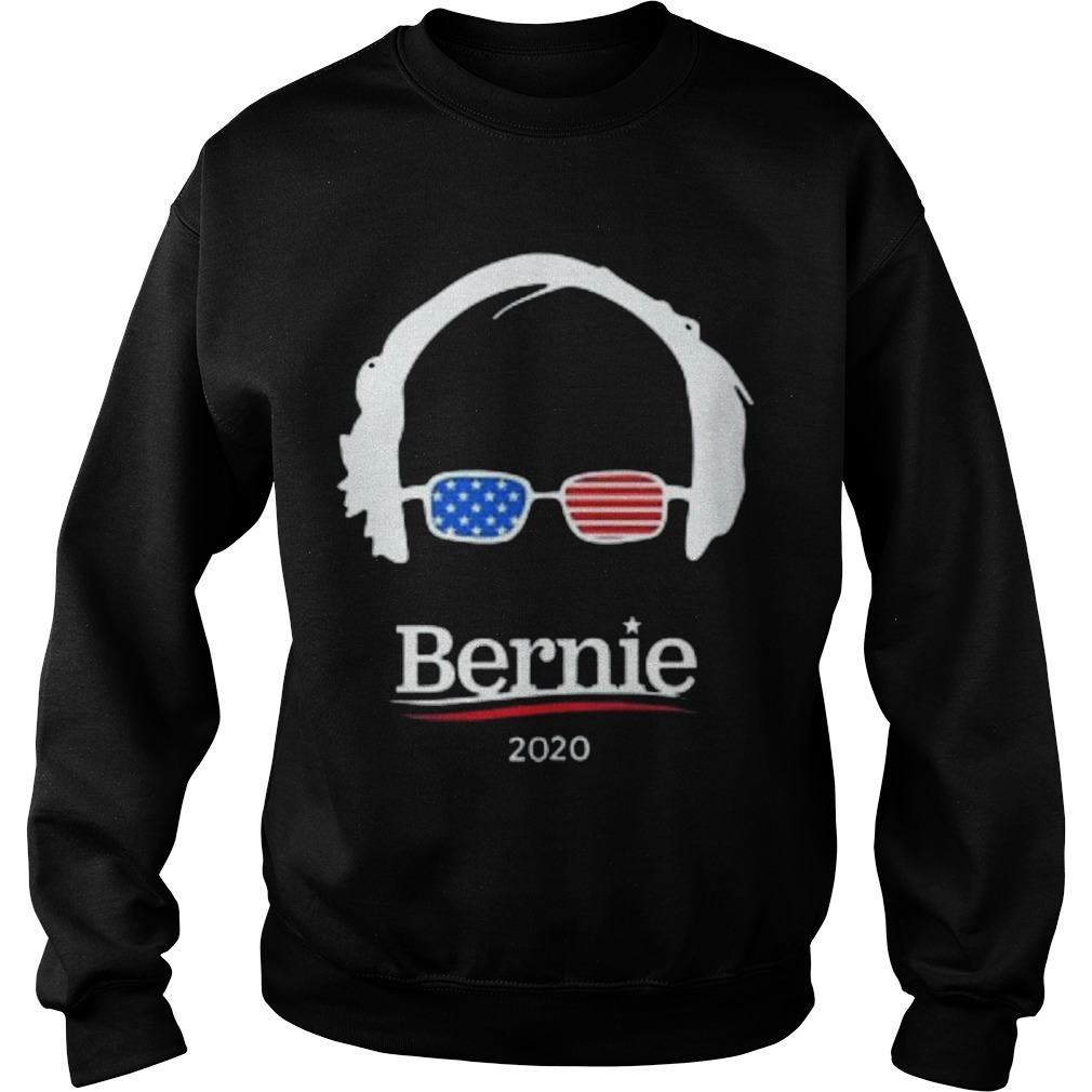 Hair And Glasses Bernie 2020 Sweater