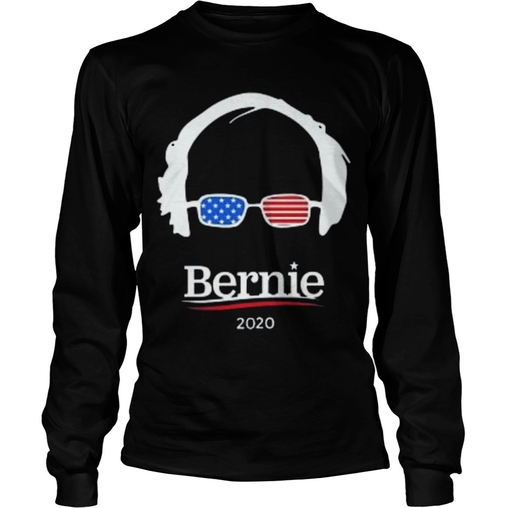 Hair And Glasses Bernie 2020 long Sleeve Tee