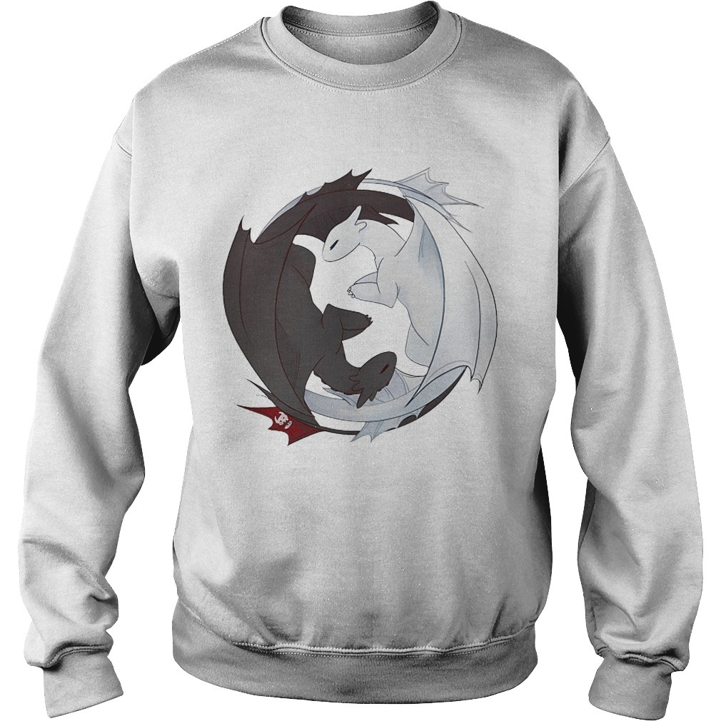 How to Train Your Dragon 3 Toothless And Light Fury Sweater