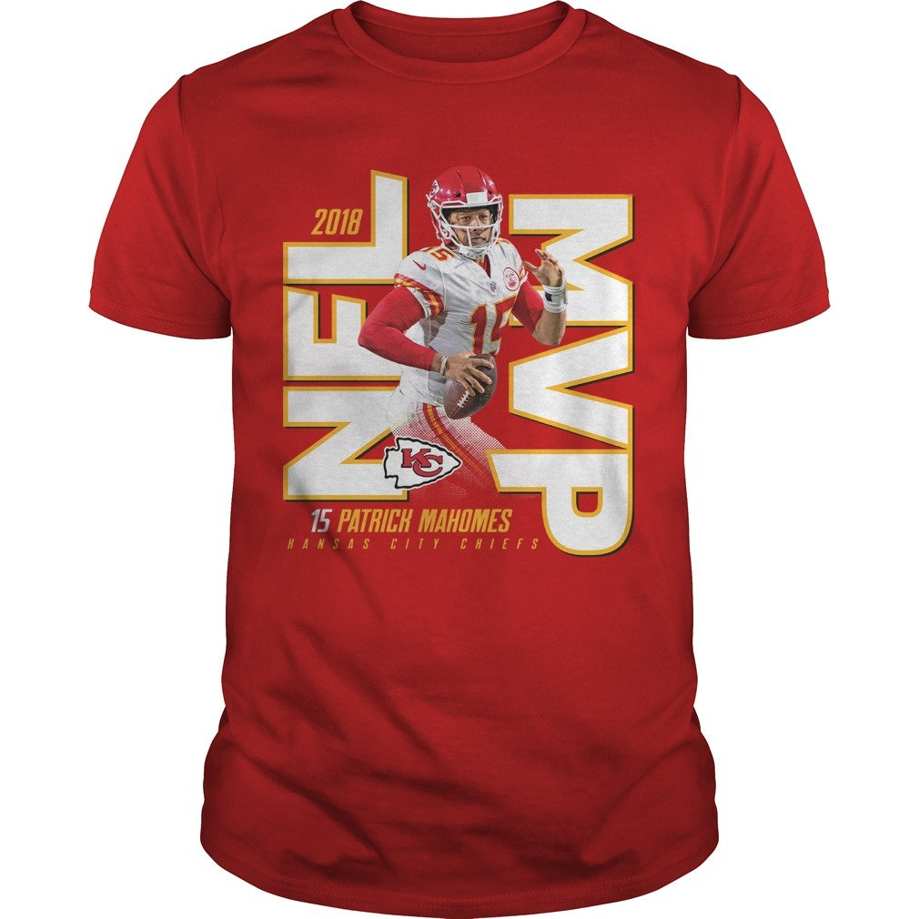 Kansas City Chiefs Patrick Mahomes 2018 NFL MVP Shirt