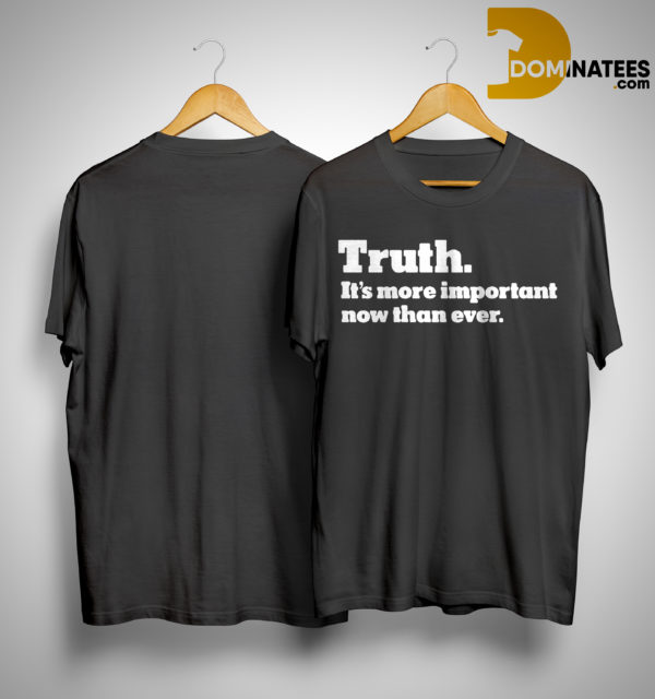 Kyrie Irving Truth It's More Important Than Ever Shirt