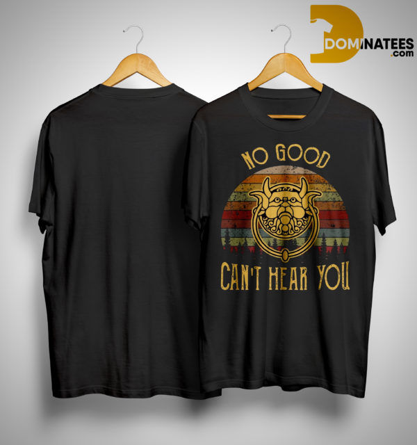 Labyrinth No Good Can't Hear You Sunset Shirt
