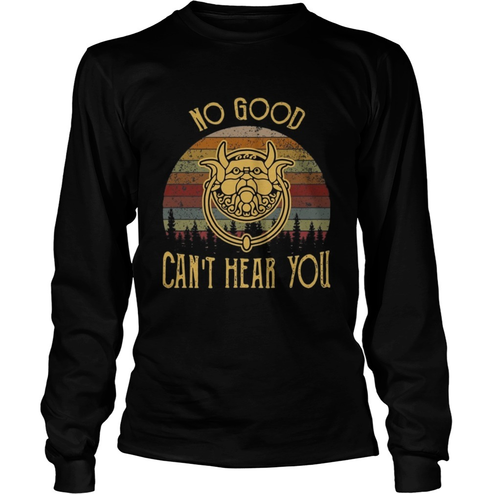 Labyrinth No Good Can't Hear You Sunset long Sleeve Tee
