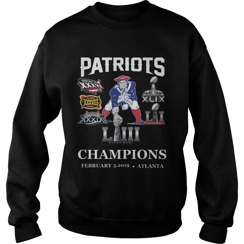 Pat Patriot Champions 2019 Sweater