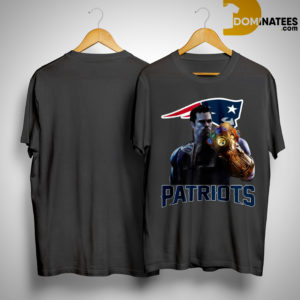 Patriots tom brady infinity gauntlet shirt