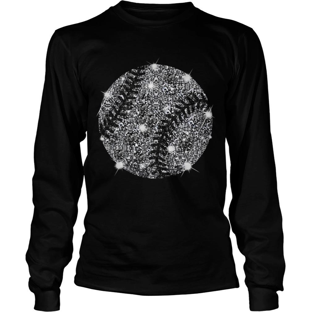 Softball Ugly Diamond Long Sleeve Tee