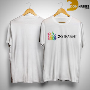 Tea Spill Gay Greater Than Straight Shirt