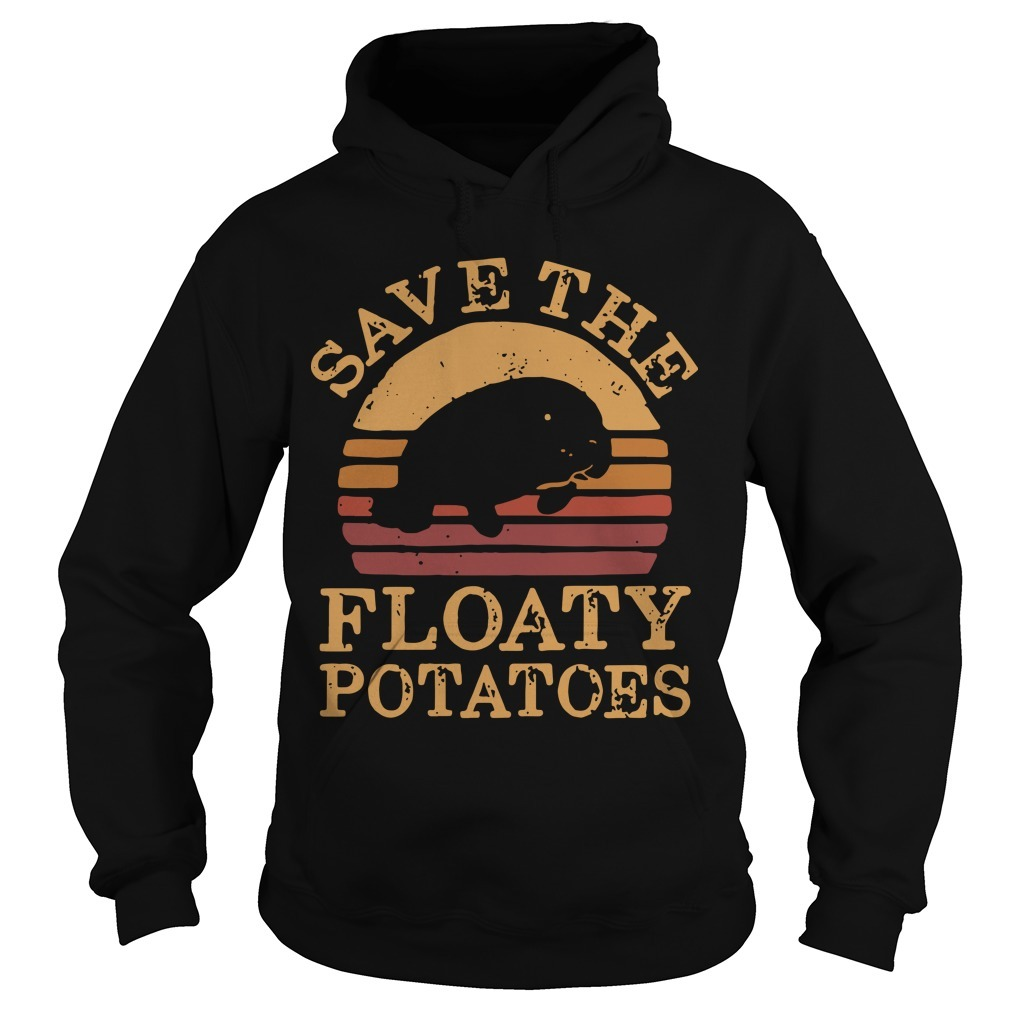 The Sunset Save The Floaty Potatoes Hoodie