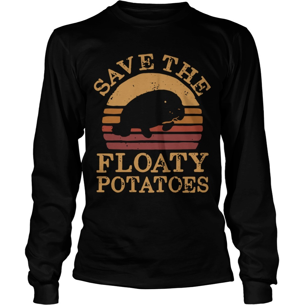 The Sunset Save The Floaty Potatoes Long Sleeve Tee