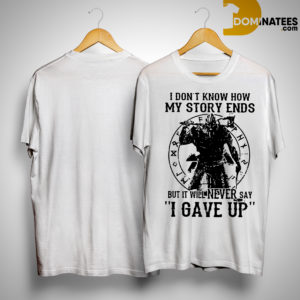 Viking Warrior I Don't Know How My Story Ends Kid Shirt