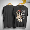 Yes I Am The Crazy Skull Lady Shirt