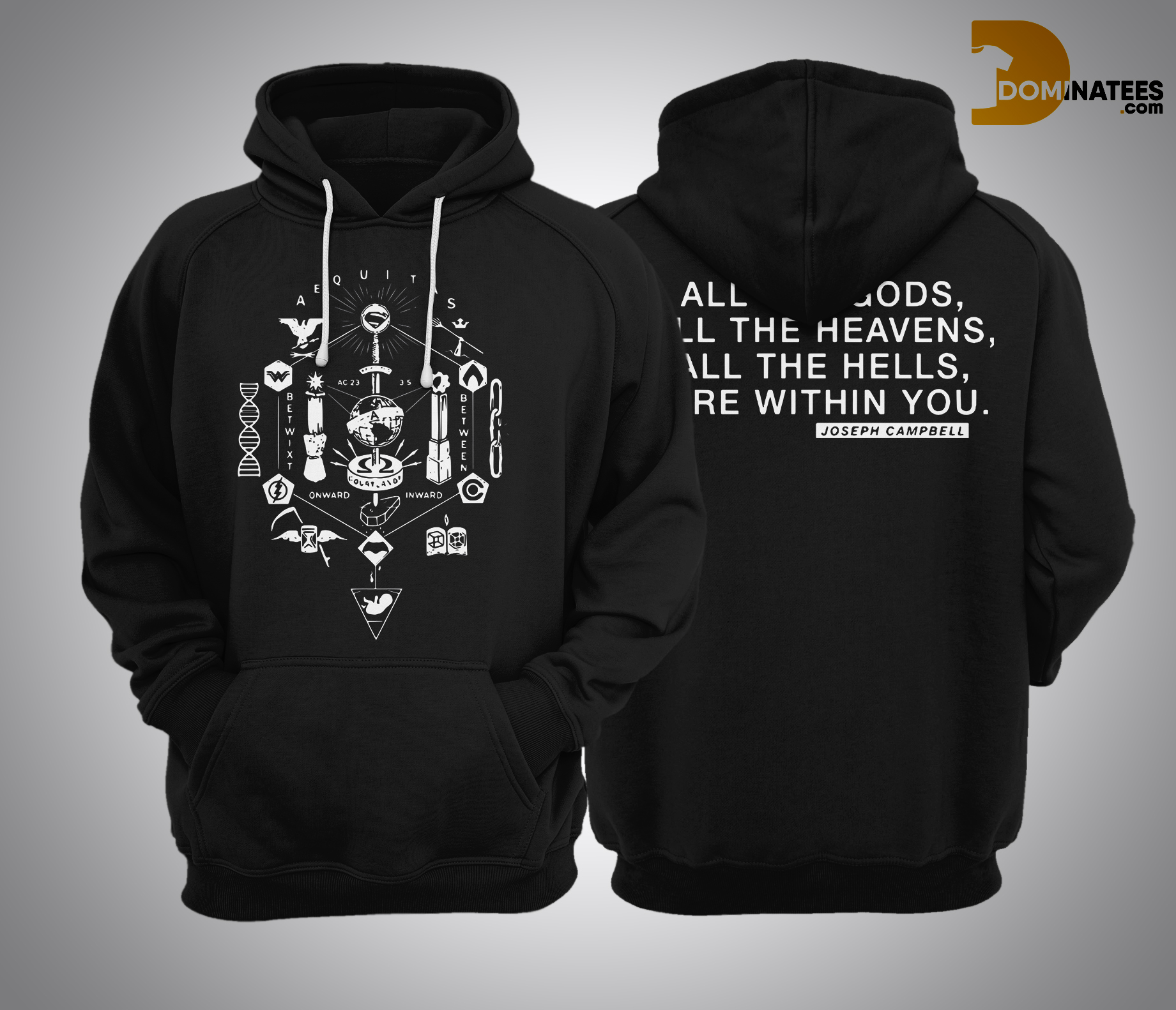 Zack Snyder All The Gods Hoodie