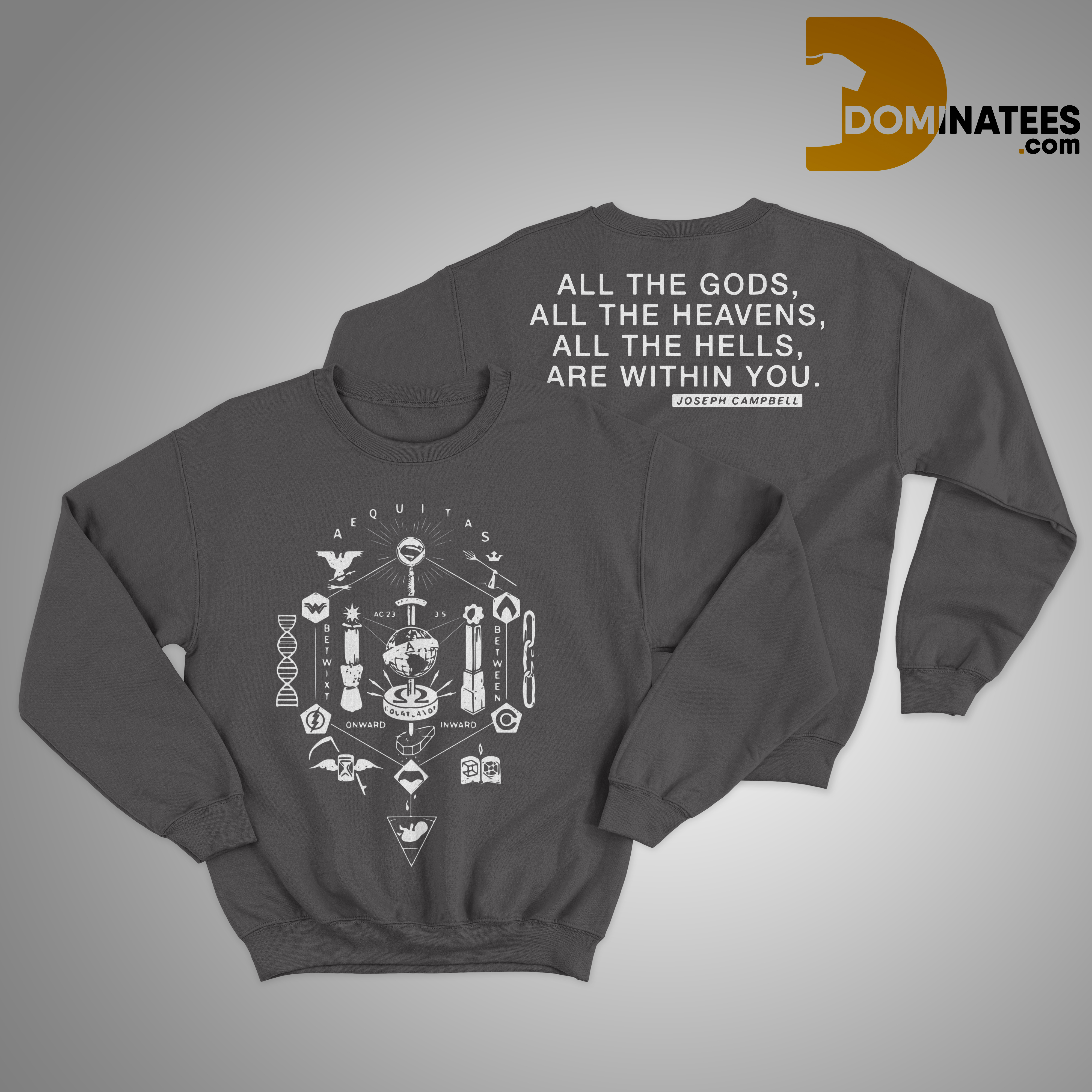 Zack Snyder All The Gods Sweater