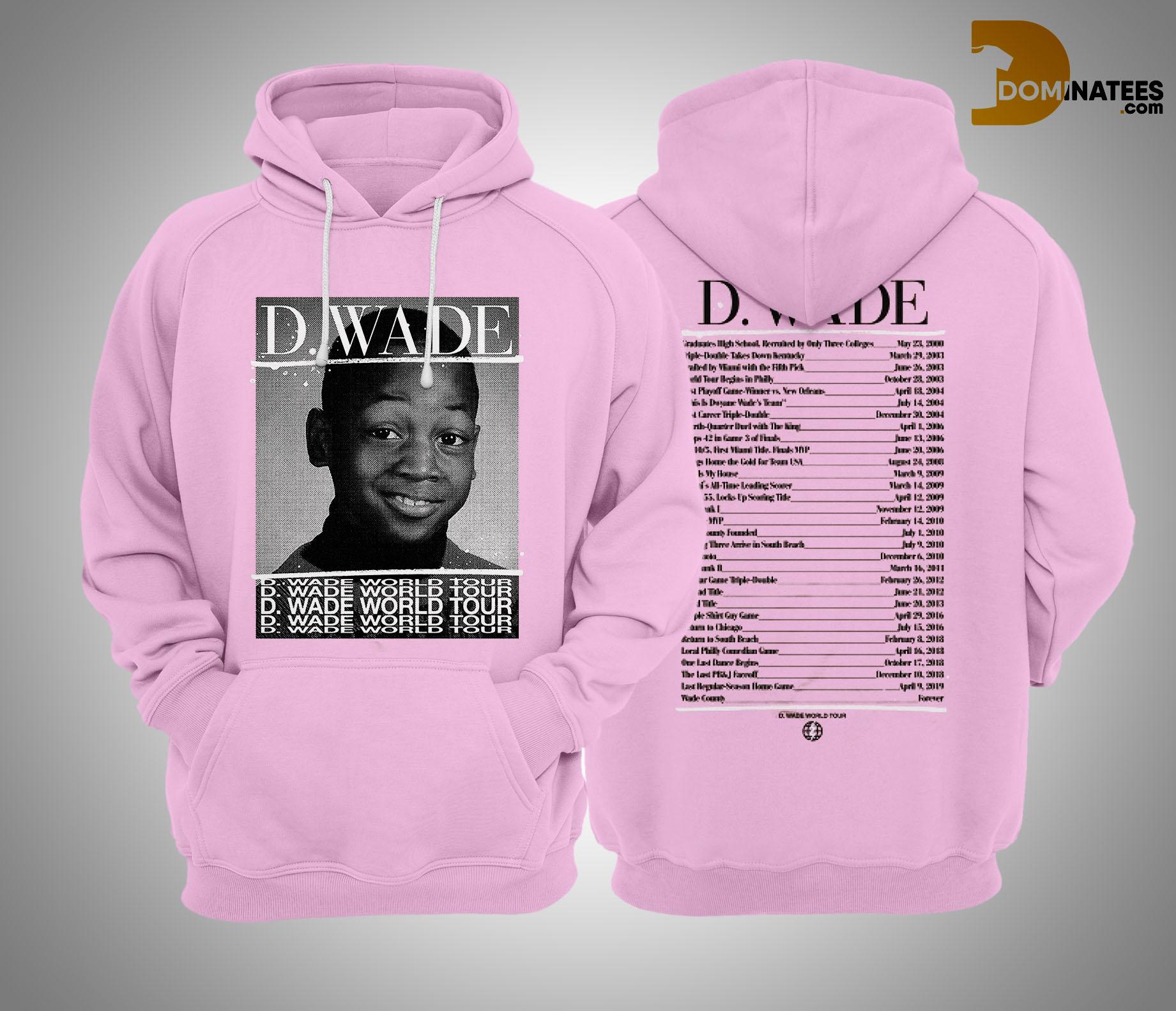 d wade world tour hoodie