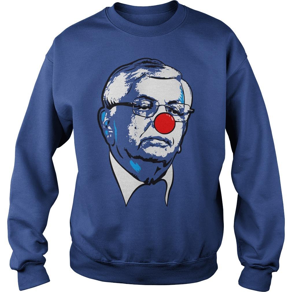 david stern clown sweater