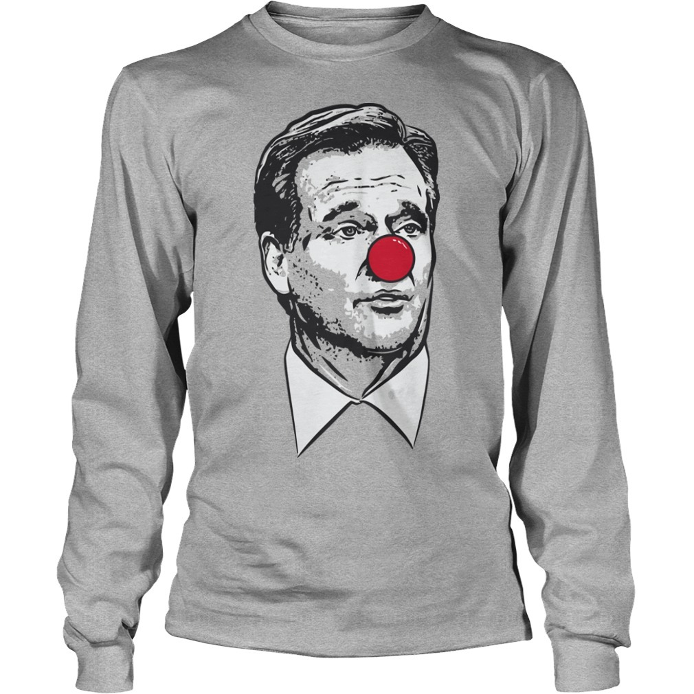 sean payton roger goodell clown Long Sleeve Tee