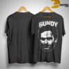 serial killer Ted Bundy Face Shirt