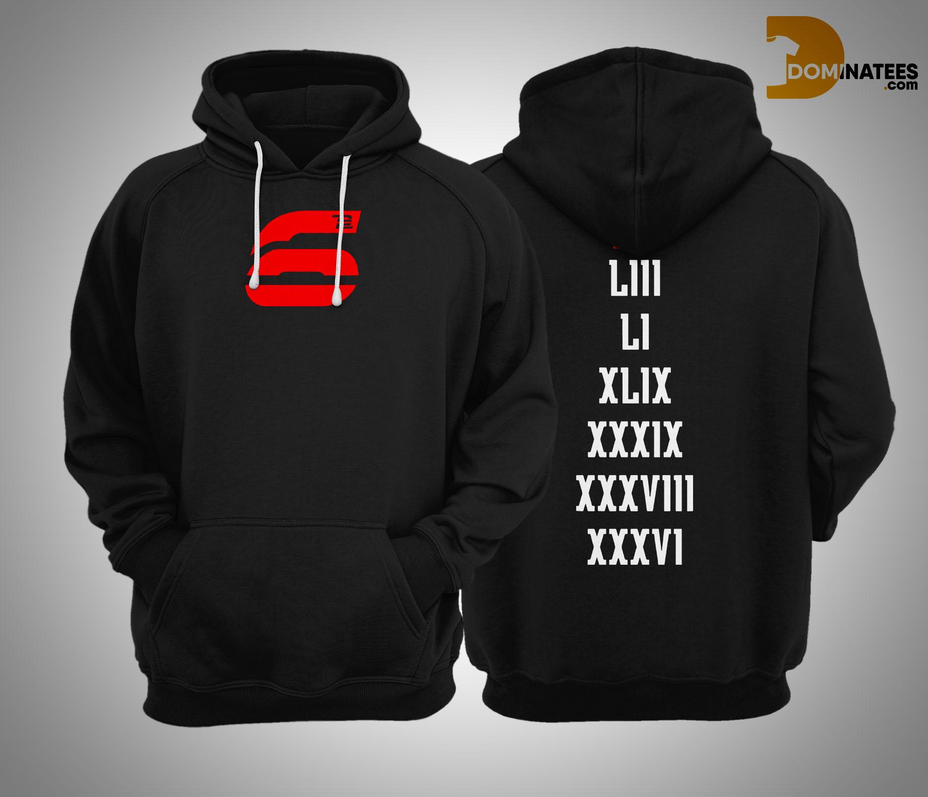 tb12 6 hoodie