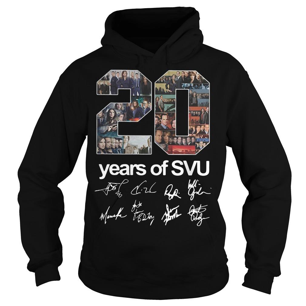 20 Years Of SVU Signature Hoodie
