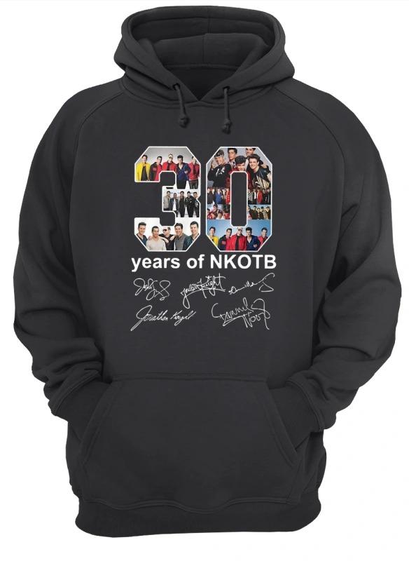 30 Years Of Nkotb Hoodie