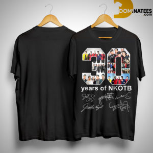 30 Years Of Nkotb Shirt