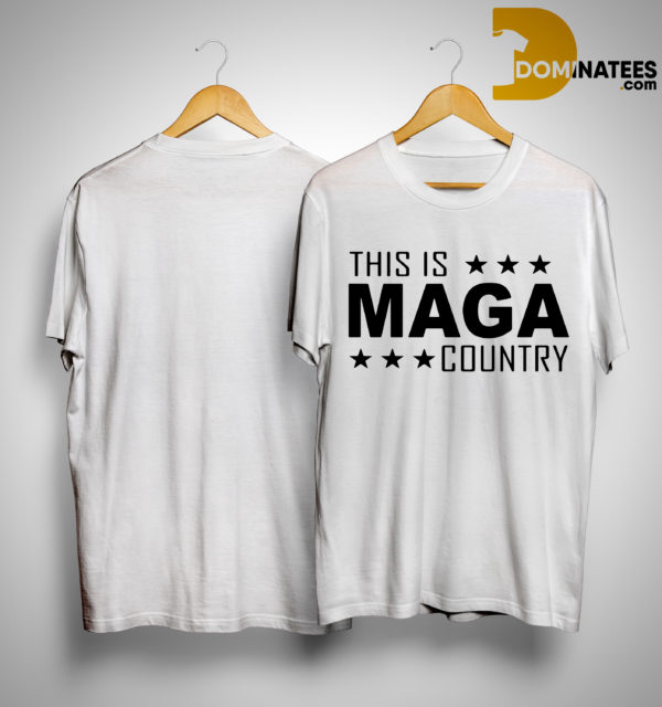 Charlie Kirk This Is Maga Country Shirt