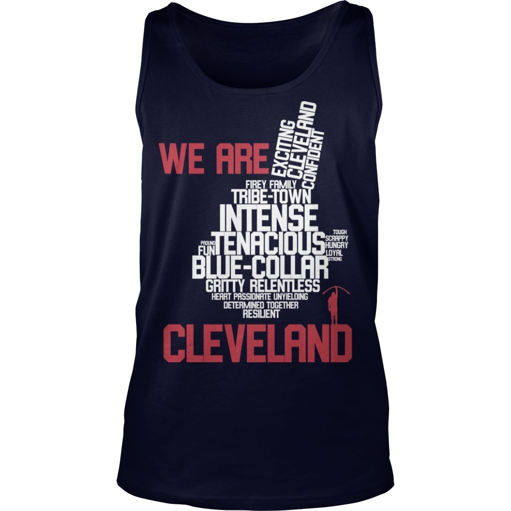 Chief Wahoo logo Trevor Bauer We Are Cleveland Tank Top
