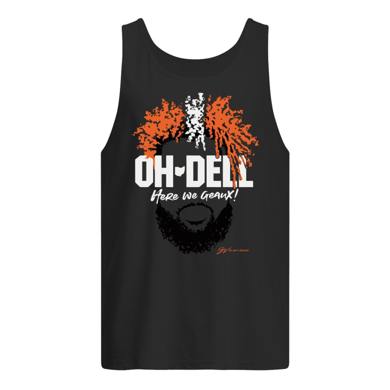 Cleveland Brown Oh Dell Here We Geaux Tank Top
