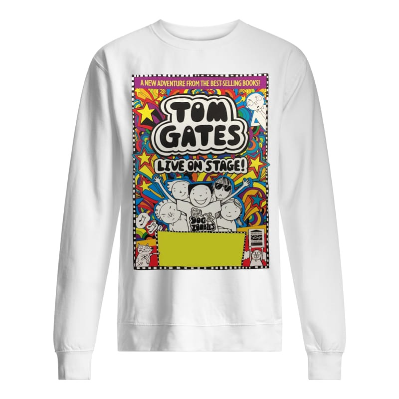 Crewe Lyceum Theatre tom gates live on stage Sweater