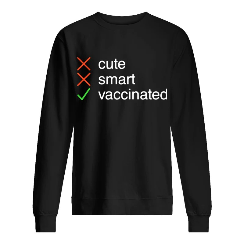 Cute Smart Vaccinated Sweater