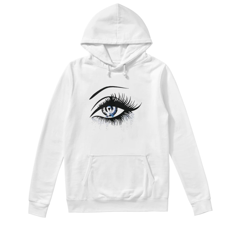 Diabetes And Cancer Awareness In The Eye Hoodie