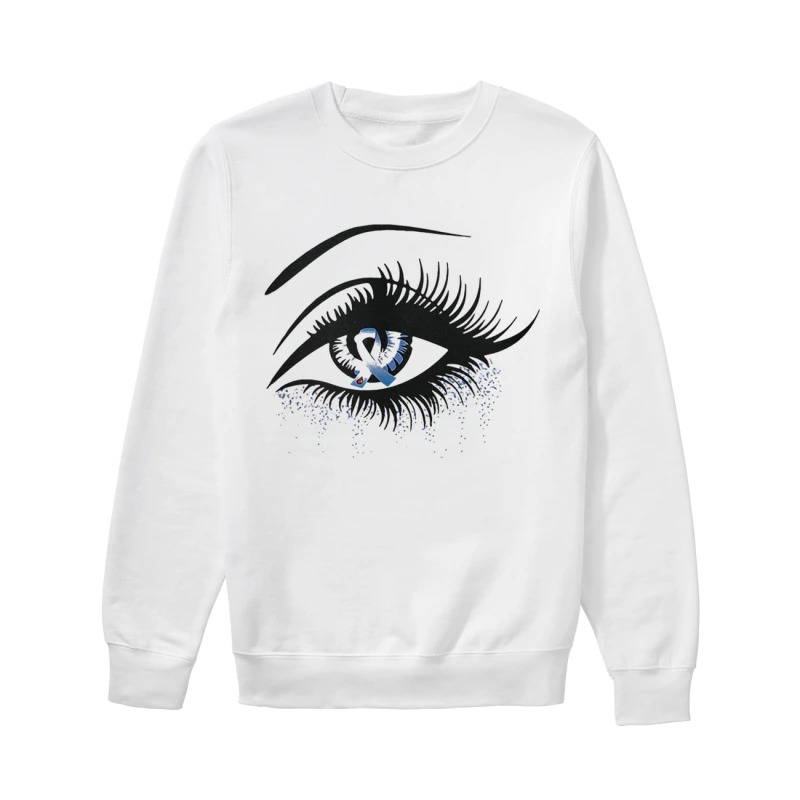 Diabetes And Cancer Awareness In The Eye Sweater