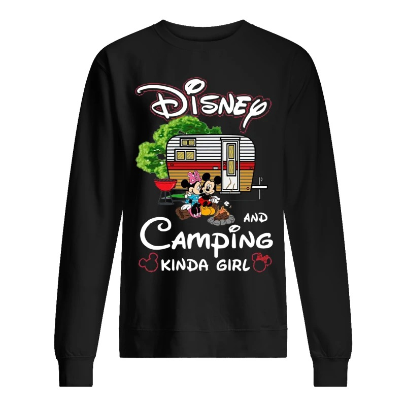Disney And Camping Kinda Girl Sweater