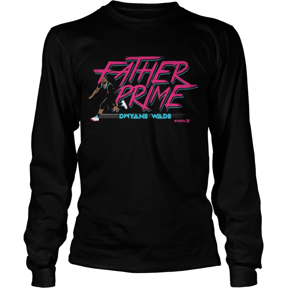 Dwyane Wade Father Prime Long Sleeve Tee