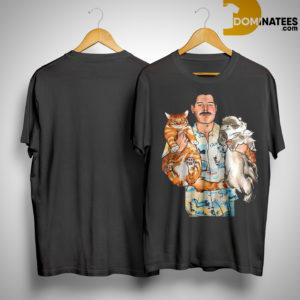 Freddie Mercury Hug Cats Shirt