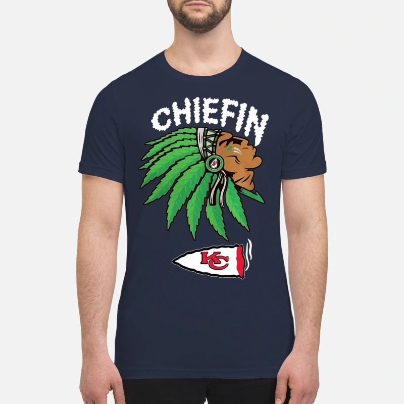 Kansas City Chiefs Marijuana Smoke Weed Chiefin Shirt