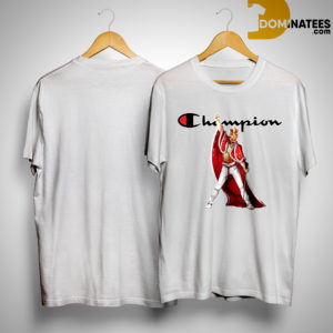 King Crown Freddie Mercury Champion Shirt