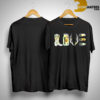 Love Boots Bottle Hunting Sunflower Shirt