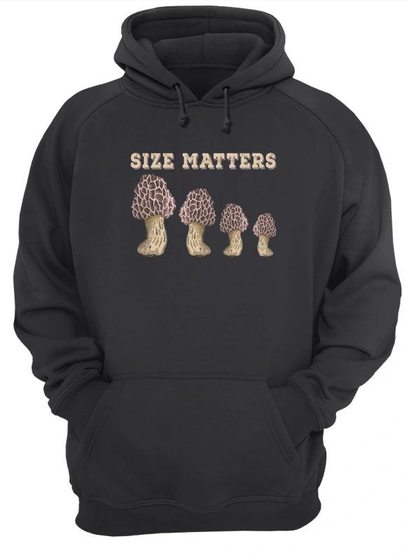 Mushroom Size Matters Hoodie