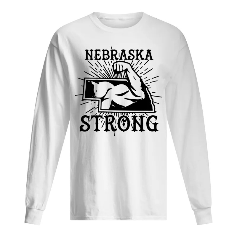 Nebraska Strong Long Sleeve Tee